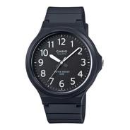 Relógio Casio Mw-240-1bvdf-sc Unissex Analógico Preto