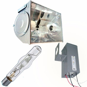 Kit Hqi Vapor Metalico 400w Refletor, Reator, Lampada Branca