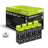3 X Pelotas De Tenis De Mesa Gewo 3 Estrellas 40 + Ultra Slp