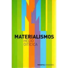 Libro: Materialismos ( Hélio Oiticica)