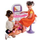 Penteadeira Infantil Salão De Beleza + 19 Acessório Bell Toy
