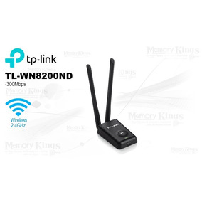 Placa De Red Usb Wi-fi Tp Link 8200nd Largo Alcance