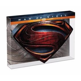 Man Of Steel Box Blu-ray 3d Colecionador - Novo Lacrado
