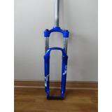 Horquilla Sr Suntour Xcm 120mm Mtb Disco Aro26 Azul Nueva