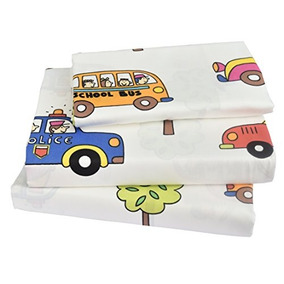 Kids Boy Girl Dibujos Animados Autobús Escolar Autobús De P