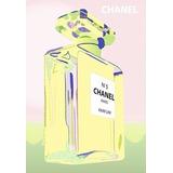 Placa Vintage King Mdf 39x27cm Chanel N5 Bc.01681