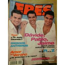 Jaime Camil Pablo Montero Davide Revista Eres