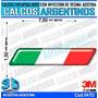 Calcomanias 3d Con Relieve, Accesorio Autos Bandera Italia