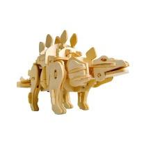 Robô Dinossauro Estegossauro 3d C/controle