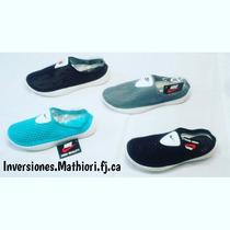 Zapatos Playero Nike Y Tommy Hilfiger Dama & Caballero