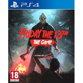 Friday The 13th The Game Juego Playstation 4 Ps4 Stock