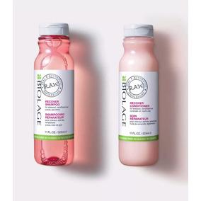 Shampoo Y Acondicionador Restaurador Biolage Raw Recover