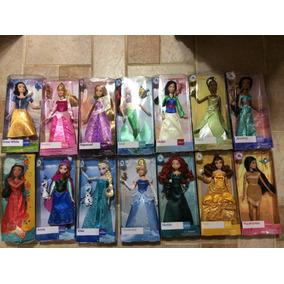 Princesas Disney 6 Bonecas Original Disney 30 Cm Articulada