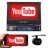 Dvd Retrátil Gps Tv Digital Extreme Com Câmera Ré Mirror 7po