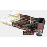 2x Caixas Choko Crunch (24 Unidades) - Probiótica + Shaker