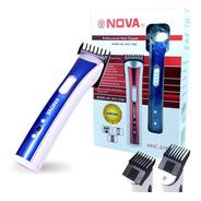 Maquina Aparador Pelos Pezinho Cabelo Barba Nova Nhc-3780