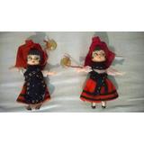 Muñecas Españolas, Galleguitas Con Sus Trajes Típicos