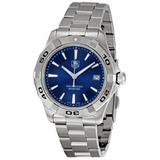 Reloj Tag Heuer Wap1112.ba0831 Aquaracer Blue Dial Para...