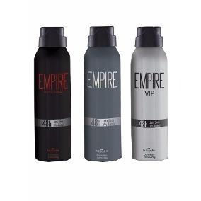 03 Empire Desodorante Aerosol Hinode - A Sua Escolha
