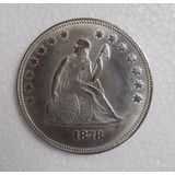 Moneda One Dol. 1878 United States Of America (no Plata)
