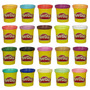 Massinha Play-doh Kit Com 20 Potes Hasbro