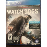 Watch Dogs / Edición Especial Ps4