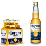Porrones Cerveza Corona De 355 C.c. Vienen 24 Unidades