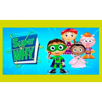 Kit Imprimible Super Why Invitaciones Fiesta Aniversario