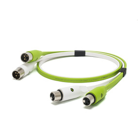Oyaide: Neo Clase B Xlr Cable 20 M - Verde -verde