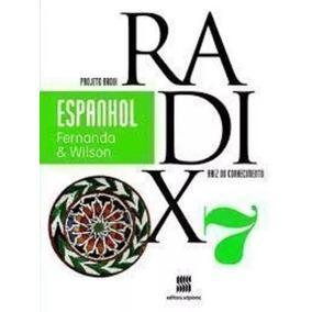 Livro Espanhol Projeto Radix 7º Ano (usado)
