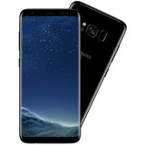 Celular Smartphone Samsung Galaxy S8 Preto Tela 5,8 Android