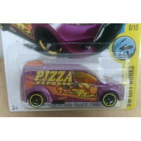Ford Transit Connect Reparto De Pizza Express Hot Wheels