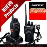 Radios Baofeng Kit 2 Bf-888s Uhf-vhf Dual Band Nuevos