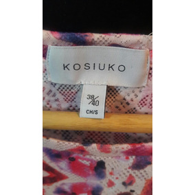 Kosiuko Imperdible Tunica/ Vestido Print !!!