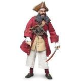Figura Sideshow Edward Teach Blackbeard The Pirate 12 Doll