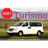 Soat De Turismo Para Van Combi Y Sprinter . Al Mejor Precio