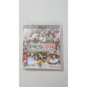 Pes 2014 Pro Evolution Soccer - Ps3 (seminovo)