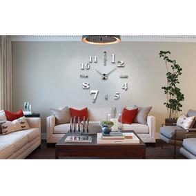 Reloj Pared 3d Grande 1.20 Mts. Diámetro