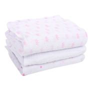 Cueiro Fralda De Pano Baby Care Papi Soft 100 X 80 Cm 3 Und