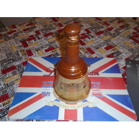 Botella Campana Whisky Bell·s Con Tapon Original Unica