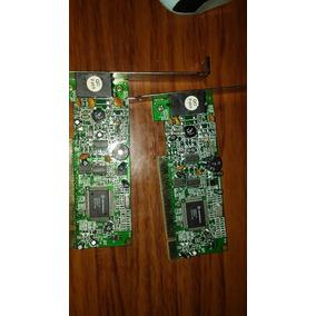 Pci Ethernet Adapter 10/100 Mbps Una Nueva Y Una Usada
