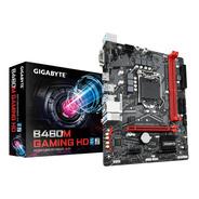 Motherboard Gigabyte B460m Gaming Hd Intel Lga 1200