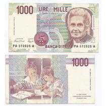 Billete Italia De 1.000 Liras De 1990 Muy Bueno ¡aprovecha!