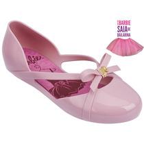 Sapatilha Infantil Barbie Ballet Rosa Paradise - Com Brinde