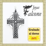 Cruz Celta San Patricio Grande Plata
