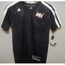Camiseta Nba Adidas Miami Heat Lebron James - Niño - Usa!!