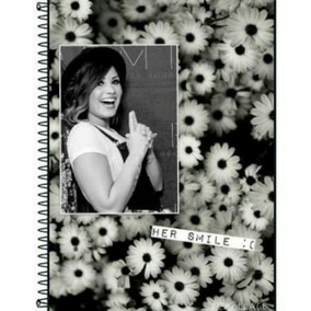 Caderno Demi Lovato 1 Matéria