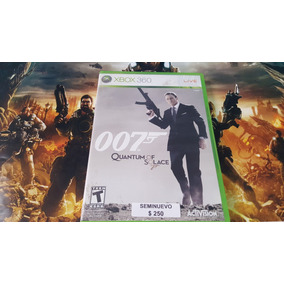 007 Quantum Of Solace Seminuevo Xbox 360 En Igamers