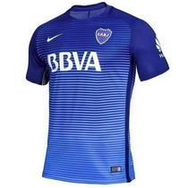 Camiseta Boca Alternativa Match Nueva 2017