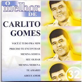 Cd Carlito Gomes - O Melhor De - Semi Novo***